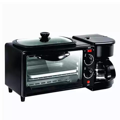 3 in 1 Smart Kitchen Electric Toaster