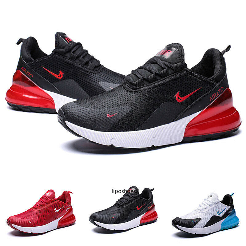 Men's Air 270 Flyknit Running Shoes Casual Sports Athletic Max Running Sneakers