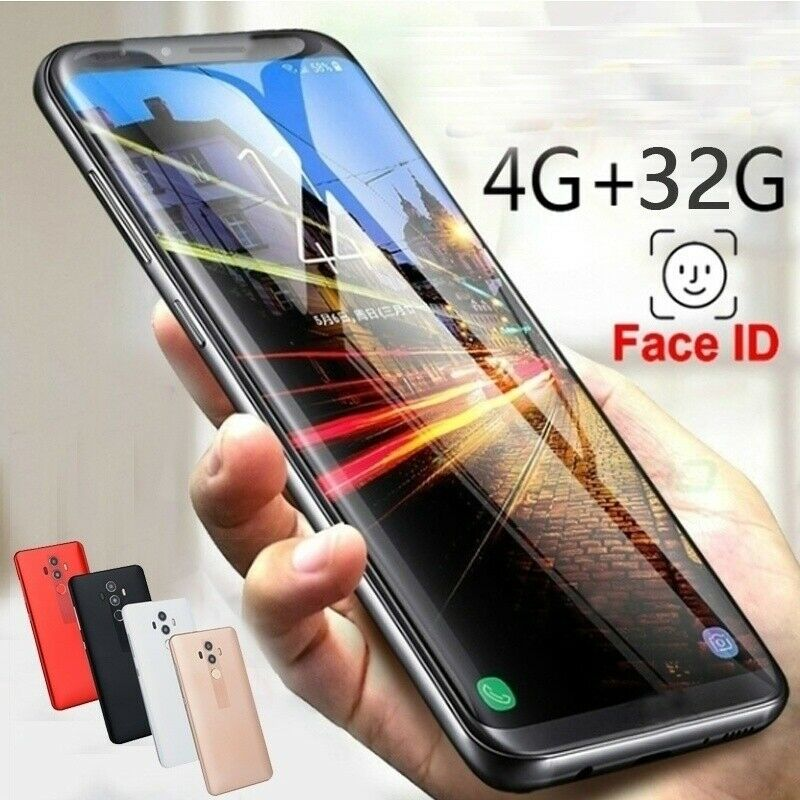 Dual SIM 6.0 5.0 inch 4+32G Smart Phone Unlocked Phone New Sealed 3G network